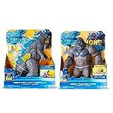 Godzilla vs Kong Anime Hero Figure, Anime Godzilla y Kong Action Figure, con Efectos de luz y Sonido, Las articulaciones se mueven, Godzilla Anime Doll Design PVC Toys