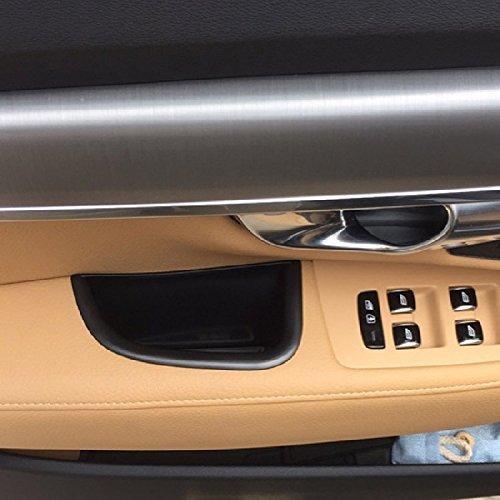 Zwarte Voordeur Opbergdoos Auto Container Houder Lade Accessoires