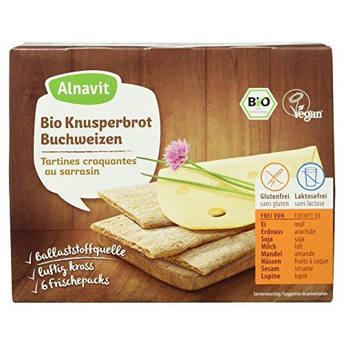 Alnavit Bio Knusperbrot Buchweizen, 150g
