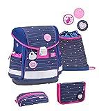 Belmil 403-13 - Set de mochila y accesorios escolares (4 piezas)