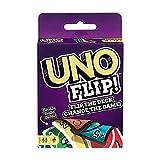 IsEasy Uno Playing Card Game Mattel Games Wild Card Uno Flip Uno (Wild Card uno)