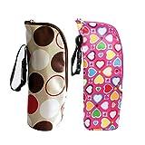 iSuperb Warmhaltetaschen Isobeutel Baby flaschen Tasche Warmhaltebox Baby Bottle Bag (Drucken)