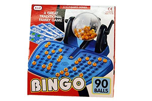 A to Z 08186 - Juego de Bingo, Multicolor