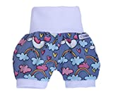 Lilakind' Kurze Mdchen Pumphose Shorts Buxe Sommerhose Einhorn - Made in Germany Gr. 86/92