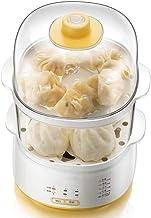 Voortreffelijk 2 Lagen Grote Capaciteit Elektrische Ei Fornuis Boiler Home Ontbijt Machine Voedselverwarming Steamer