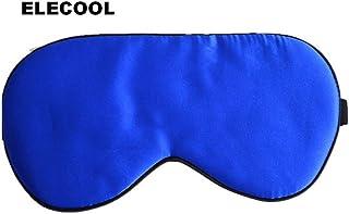 メモエレクトロブルーソフト桑シルクアイパッチアイスリープマスクトラベルスリープレストアイシェードスリーピングマスクカバーセックスされていない高品質