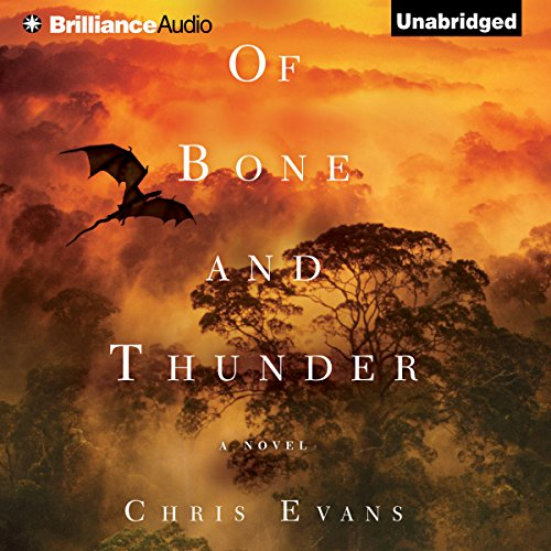 Of Bone and Thunder audiobook cover art