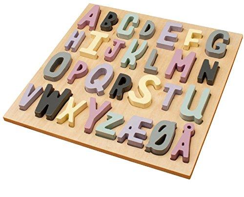 Sebra ABC Holzpuzzle für Mädchen