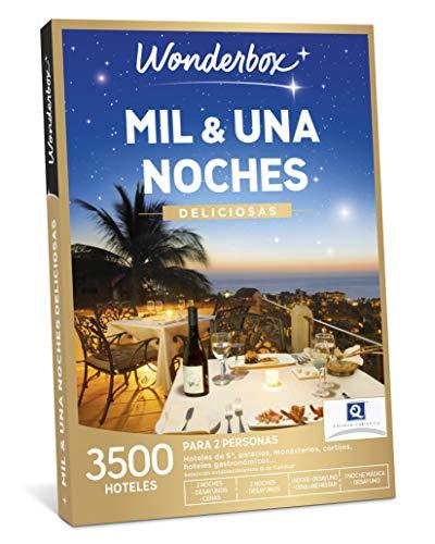 WONDERBOX Caja Regalo - MIL & UNA Noches DELICIOSAS - una Estancia con Diferentes Opciones a Elegir Entre 3.500 hoteles deliciosos para Dos Personas.