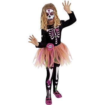 Disfraz Catrina para niñas y adolescentes: Amazon.es: Juguetes y ...