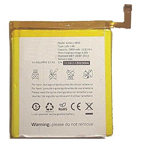 Theoutlettablet - Bateria BQ AQUARIS E5 4G / E5S 2850 mAh (Valida para EL E5 HD ni para el E5 FHD)