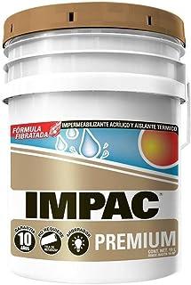 IMPAC Premium Fibratado Blanco Impermeabilizante 19l - Blanco