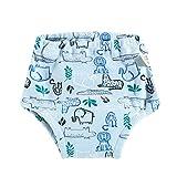 Pwtchenty Windeltuch, 110CM Baumwolltuch Windel wasserdicht waschbar wiederverwendbar atmungsaktiv für Baby Kleinkind Kleinkind wiederverwendbares Windeltuch
