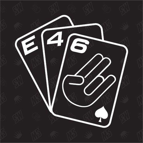 speedwerk-motorwear Spielkarten E46 - Sticker