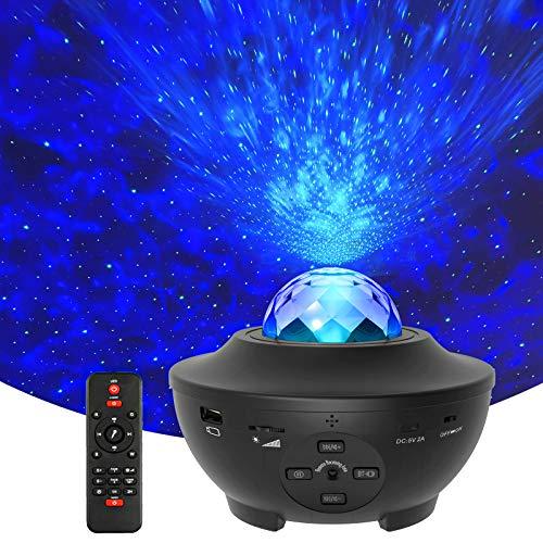 Galaxy Projector Star Projector, Starry Projector Light Bluetooth Music...
