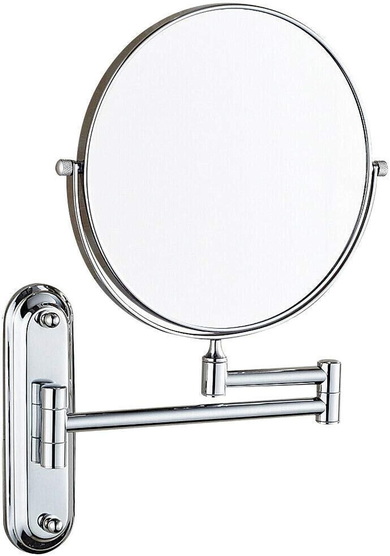 Magnifying Makeup Mirror Wall Mounted Hotel Bathroom X5 X7 X10 Mirrors,10X