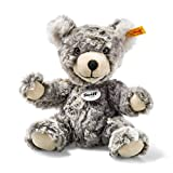 Steiff 109928 Teddy-Bär Lommy, Plüschtier, grau/beige, 25 cm