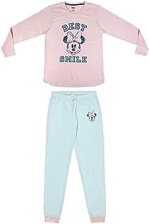 Mujer Pijama Minnie-Licencia Oficial Disney