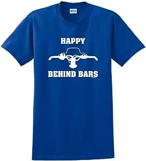Happy Behind Bars Snowmobile T-Shirt