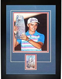 Rickie Fowler Autographed Golf (TPC Trophy)