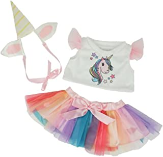 Bear Factory Unicorn Outfit Fits Most 14