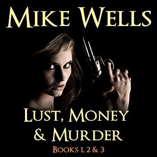 Lust, Money & Murder audiobook cover art