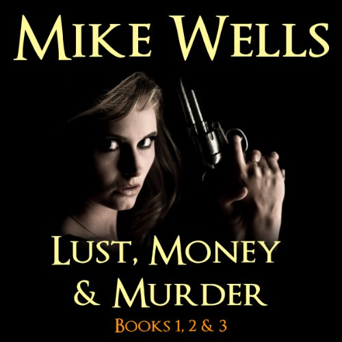 Lust, Money & Murder audiobook cover art
