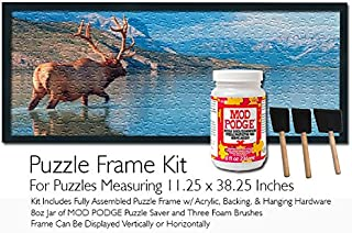 Mod Podge Jigsaw Puzzle Frame Kit - For Puzzles Measuring 11.25x38.25 Inches