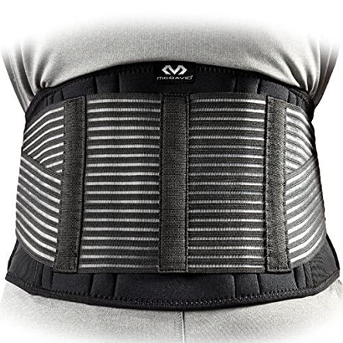 McDavid Stabilisateur dorsal Noir - XL