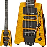"""STEINBERGER スタインバーガー エレキギター Spirit GT-PRO """"QUILT TOP"""" DELUXE (TA/Trans Amber)"""