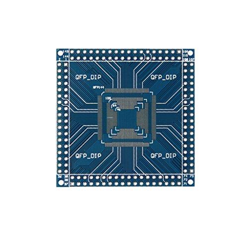 FYYONG QFP/TQFP/LQFP 32/44/48/64/100/144 Pin a Pin DIP tarjeta de adaptador convertidor