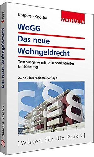Price comparison product image WoGG - Das neue Wohngeldrecht: Leitfaden für Beratung