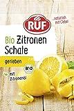 RUF Bio Zitronenschale gefriergetrocknet mit Zitronenöl, 22er Pack (22 x 5 g)