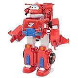 Giochi Preziosi - Super Wings Jett Super Robot, Veicolo Trasformabile in Robot, Personaggi...