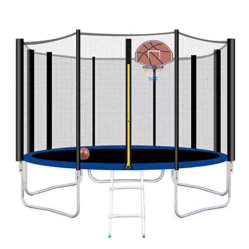 12FT Trampoline Combo Bounce Jump Trampoline for Kids...