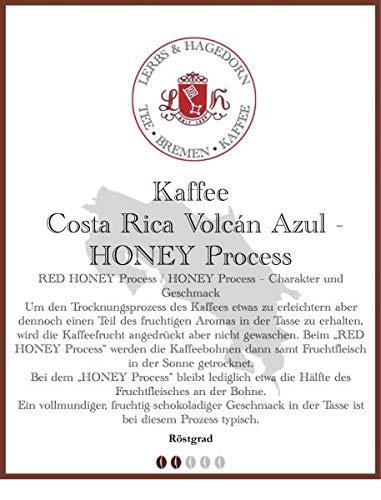 Costa Rica Volcán Azul - HONEY Process Kaffee 1kg