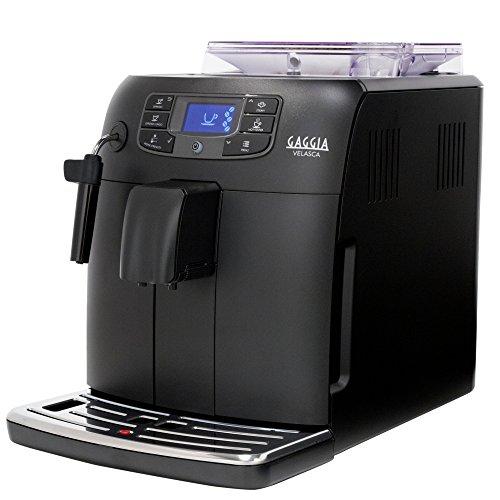 Gaggia Velasca Espresso Machine, Black