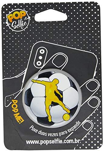 Apoio para celular - Pop Selfie - Original Bola Futebol Ps228, Pop Selfie, 151458, Branco