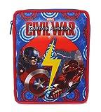Captain America Civil War - Astuccio, Large, Poliestere, Multicolore