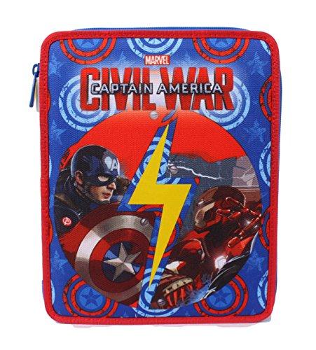 Seven Captain America Civil War 3B8011604-591 Astuccio, Large, Poliestere, Multicolore