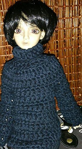 Doll Cardigan Crochet Pattern - Crochet it Creations | 500x278