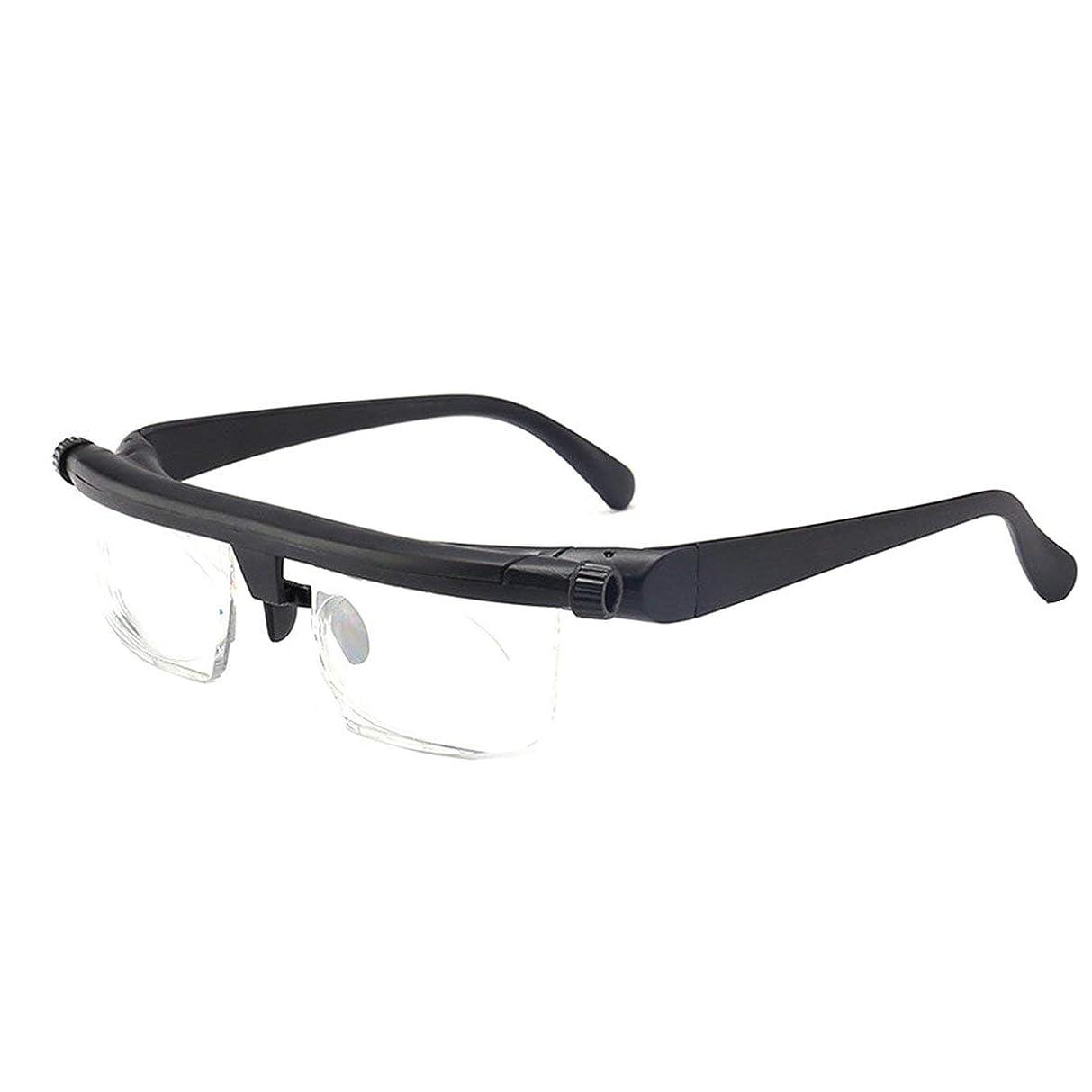 謙虚な一見そばにIntercorey Tr90焦点距離調整老眼鏡は、-6D?+ 3D度の近視老眼鏡に調整できます。