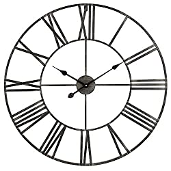 Aspire Home Accents 5155 Solange 30 Diameter Oversized Analog Wall Mounted Clock - N/A - N/A