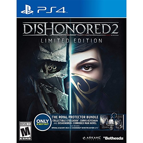 Dishonored 2 Limited Edition Exclusive The Royal Protector Bundle [Playstation 4]