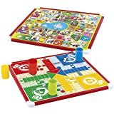 ColorBaby- Oca y Parchís Juego de Mesa Reversible CB Games (36844)