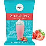 Strawberry Blended Crème Mix by Angel Specialty Products [3 LB]