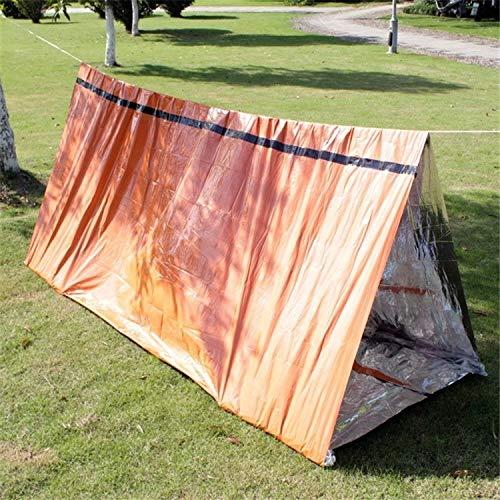 ZHANGYOUDE Notfall einfaches Zelt im Freien Rettungsdecke Erste-Hilfe-Sonnenschutz Isolationsdecke