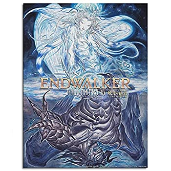 Final Fantasy XIV  14  Online End Walker Game Poster - Promotional Art Canvas Prints Poster Wall Art For Home Office Decorations Unframed 10 x8