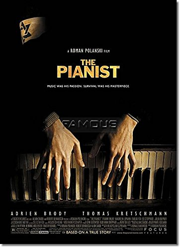 映画ポスター 戦場のピアニスト (エイドリアン・ブロディ) グッズ/REG-DS 初版