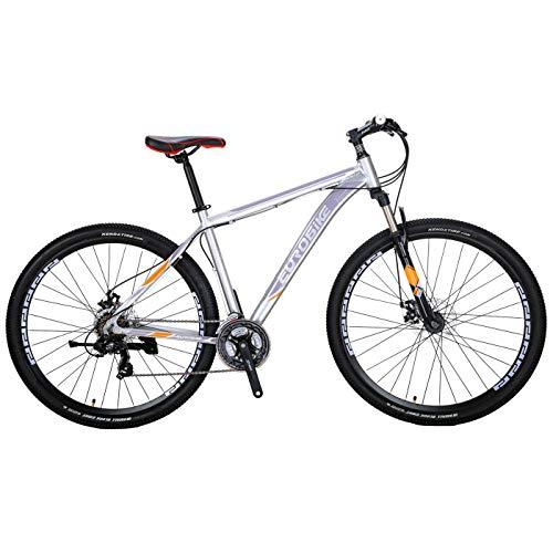 Eurobike EURX9 Mountain Bike 21 Speed 29 Inches Spoke Wheels Dual Disc...